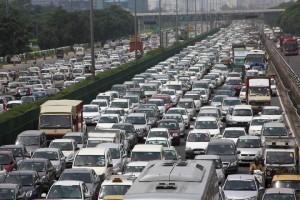 gurugaon traffic jam