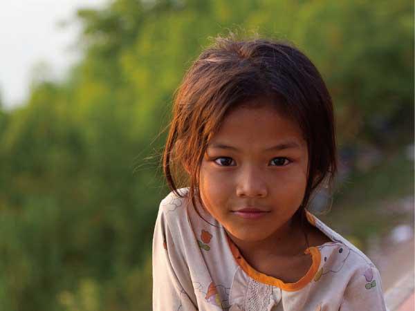 インドの少女の写真