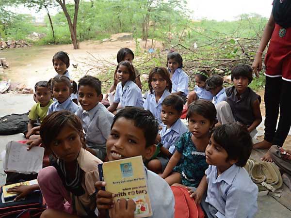 インド ボランティア