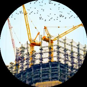 インドの経済成長を表すビル
